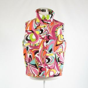 Gretchen Scott pink sleeveless vest M
